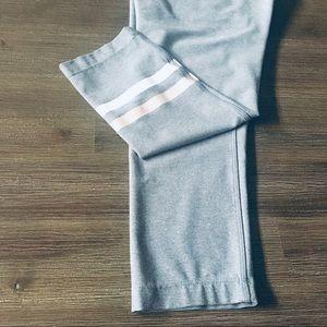 MPG Sport Striped Light Grey Leggings